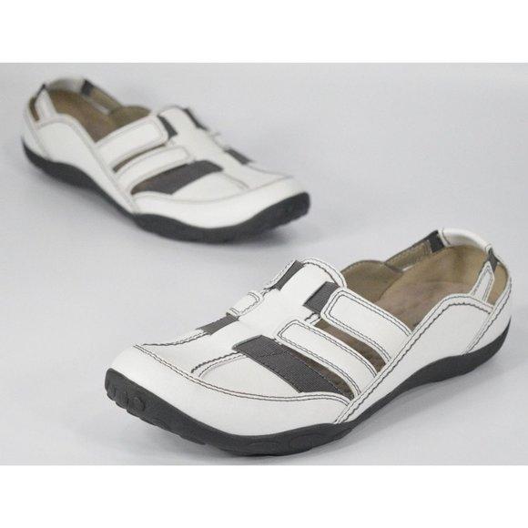 Clarks Shoes   Clarks Haley Stork White